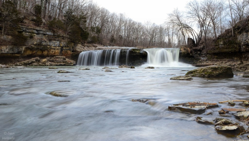 Cataract Falls | Indiana Waterfalls | Cloverdale, Indiana | Image By Indiana Architectural & Travel Photographer Jason Humbracht
