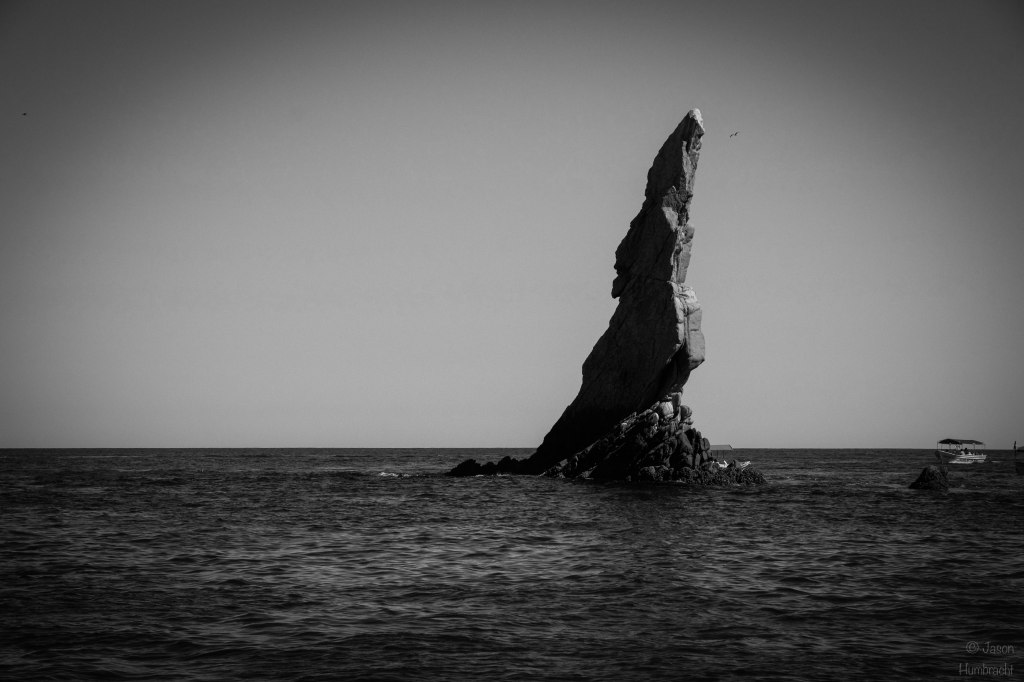 The Arch | Black & White | Cabo San Lucas, Mexico | Image By Indiana Architectural Photographer Jason Humbracht