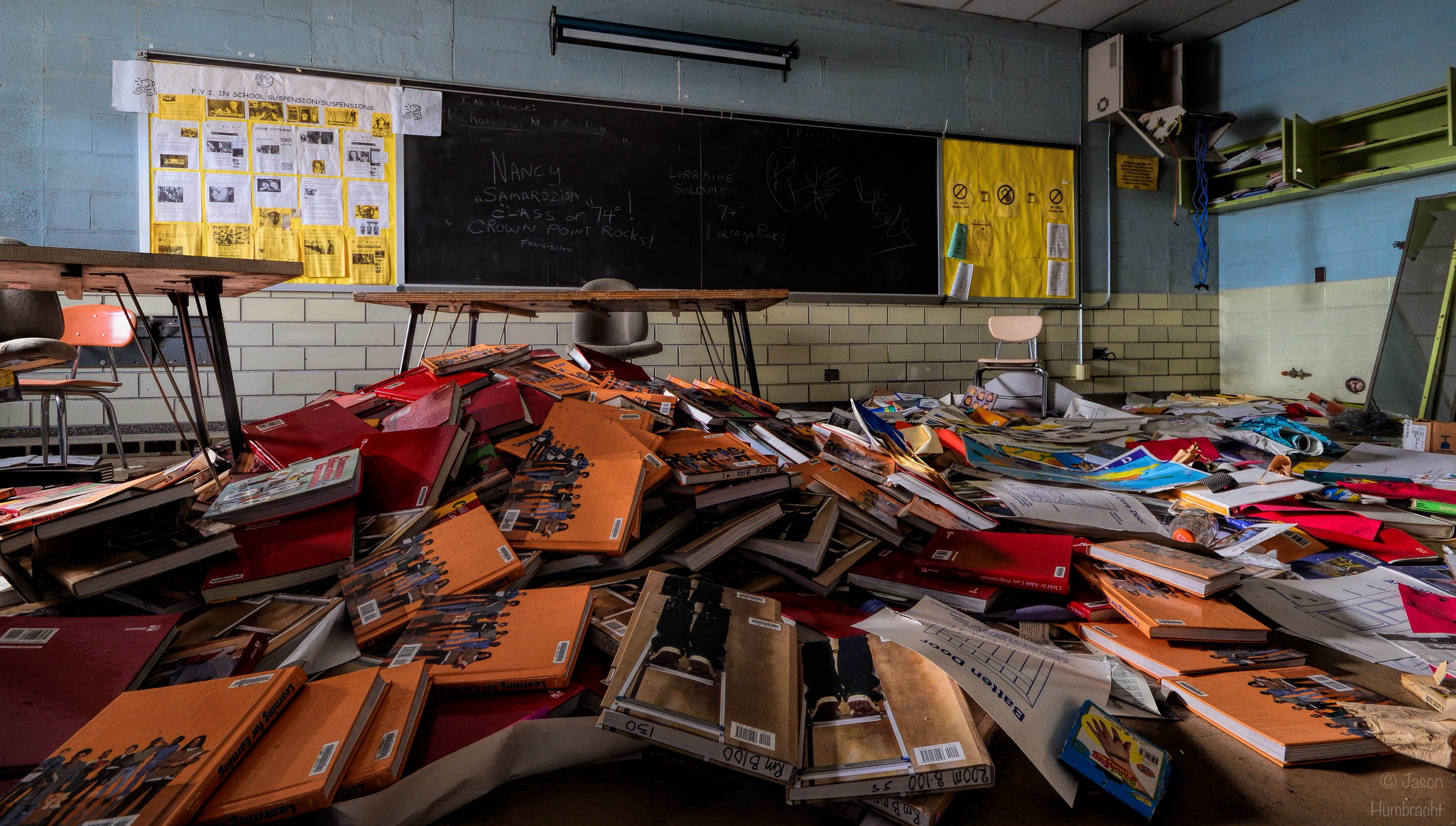 Abandoned High School Gary Indiana Urbex Photography