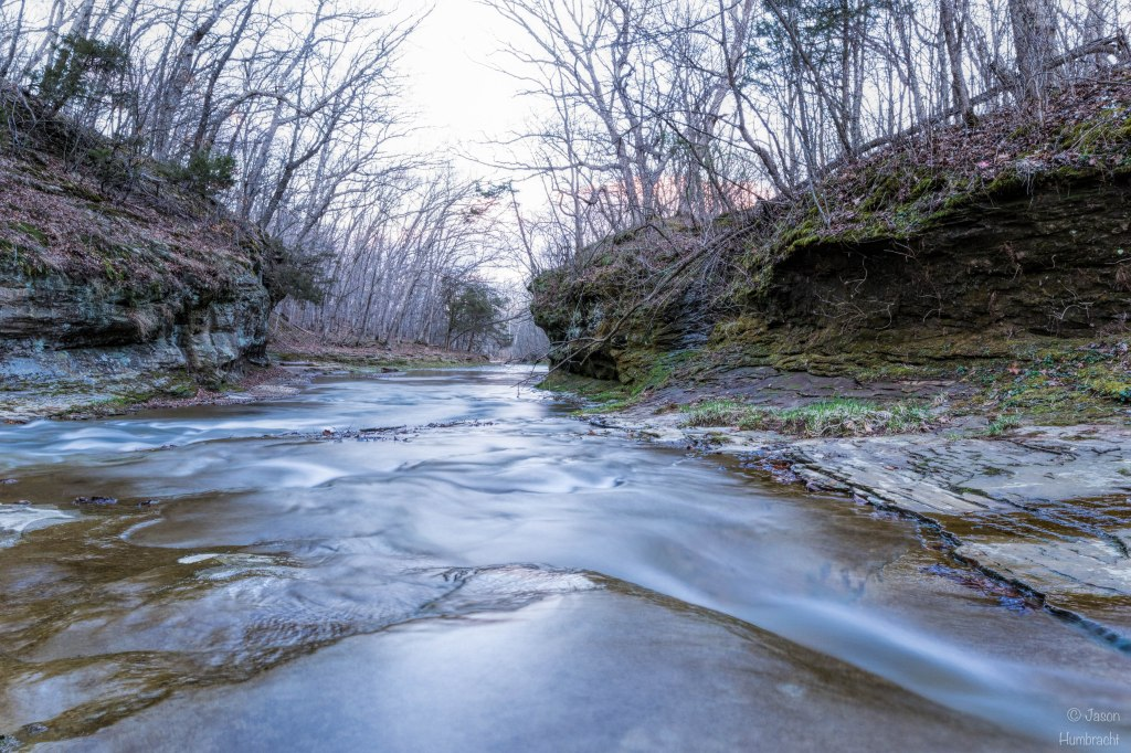 Fall Creek Gorge | Indiana Waterfalls | Attica Indiana | The Potholes | Image By Indiana Architectural Photographer Jason Humbracht