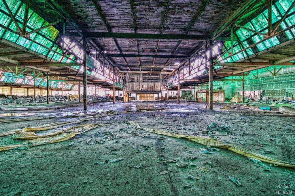 Abandoned RCA Factory in Indianapolis, Indiana   Image By Indianapolis-based Architectural Photographer Jason Humbracht in 2015