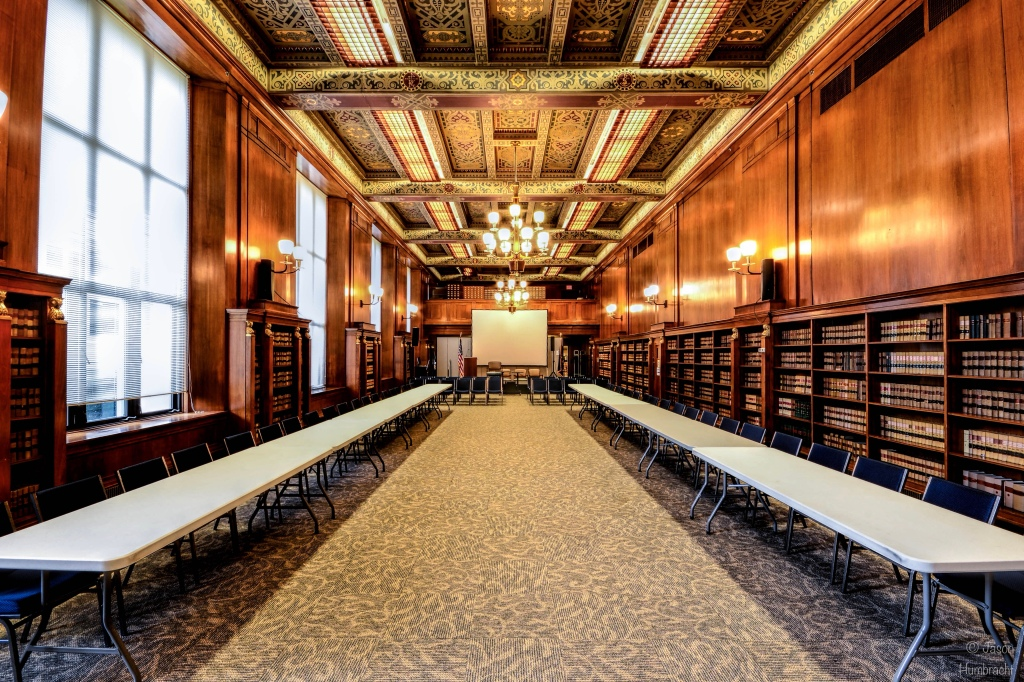 Indiana State Library | History Reference Room | Indiana Architecture | Indianapolis, Indiana | Image By Indiana Architectural Photographer Jason Humbracht