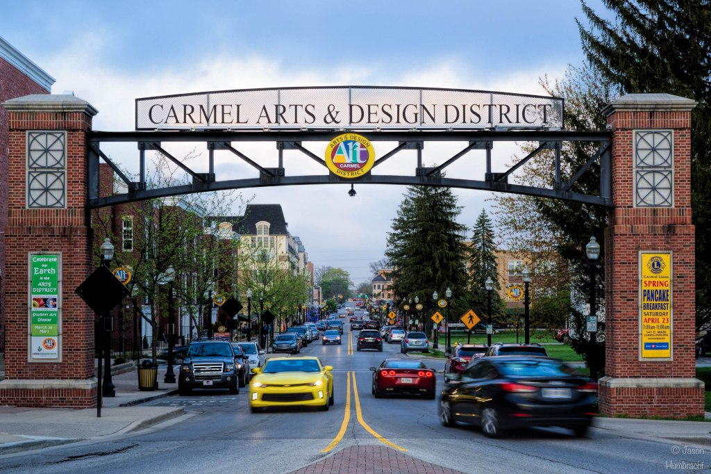 Carmel Arts & Design District | Carmel Indiana | Indiana Architecture | Image By Indiana Architectural Photographer Jason Humbracht