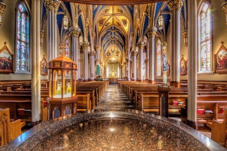 Notre Dame Cathedral | South Bend, Indiana | Image By Indiana Architectural Photographer Jason Humbracht