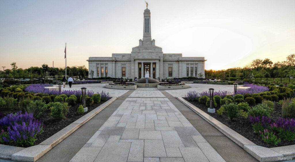 The Church of Jesus Christ of Latter-Day Saints | Carmel, Indiana | Image By Indiana Architectural Photographer Jason Humbracht