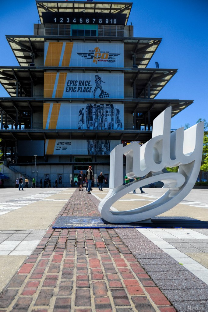 Indianapolis 500 100th Running Practice Day | Indianapolis Motor Speedway | Image By Indiana Architectural Photographer Jason Humbracht