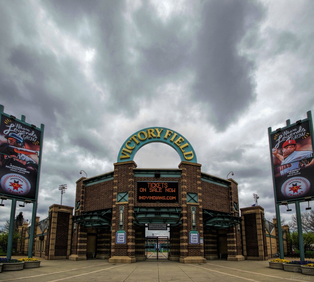 Victory Field | Downtown Indianapolis, Indiana | Image By Indiana Architectural Photographer Jason Humbracht