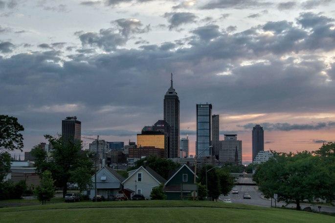 Indianapolis Skyline | Highland Park | Image By Indiana Architectural Photographer Jason Humbracht