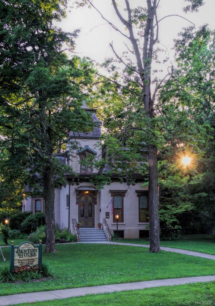 The Benton House | Irvington, Indiana | Irvington Historic Landmarks | French Second Empire Architecture | National Register of Historic Places | Indiana Architecture | Image By Indiana Architectural Photographer Jason Humbracht