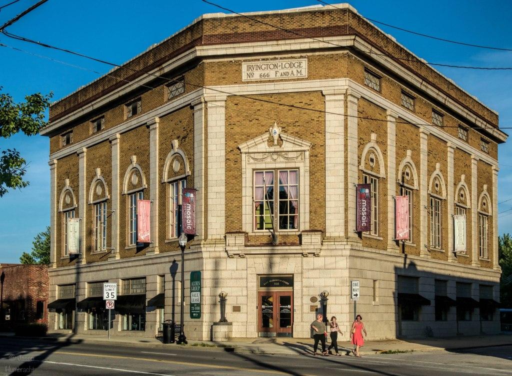 Masonic Lodge No. 666 | Irvington, Indiana | Indiana Architecture | Image By Indiana Architectural Photographer Jason Humbracht