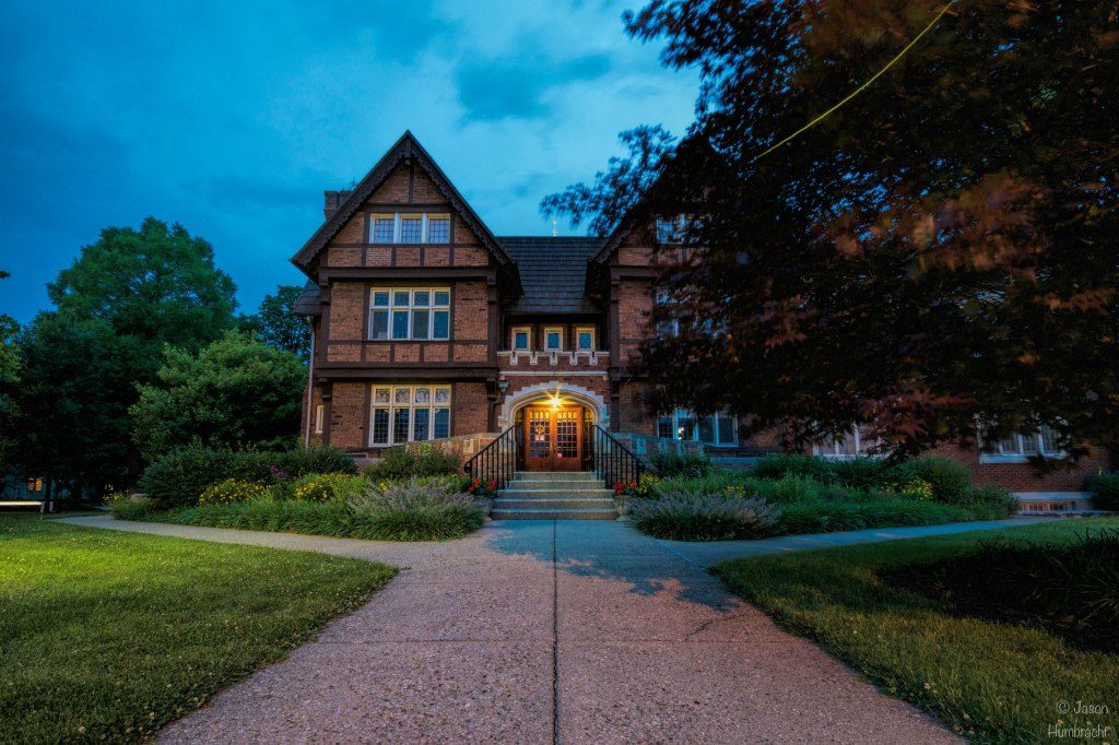 Irvington United Methodist Church | Irvington, Indiana | Indiana Architecture | Tudor Revival Architecture | Image By Indiana Architectural Photographer Jason Humbracht